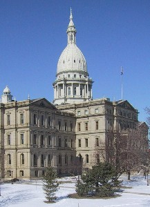 Michigan's State Capitol Building in Lansing