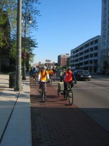 Bike to Work Day in Detroit