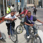 A recent Back Alley Bikes/Trips for Kids Detroit ride
