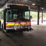 SMART bus bike rack