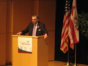 Transportation Secretary Ray LaHood at the National Bike Summit