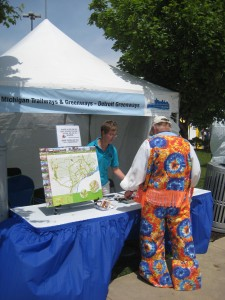 Make sure you stop by the booth at the RiverDays event this weekend on the Detroit RiverWalk