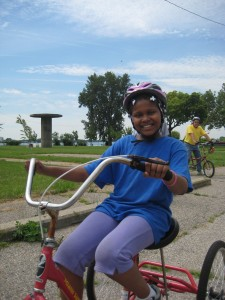 PEAC cycling in Detroit