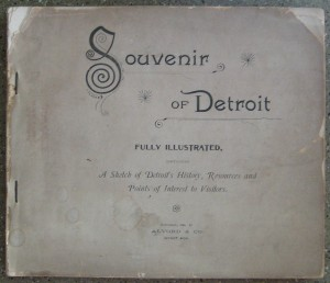 Souvenir of Detroit booklet from 1891
