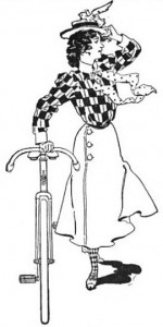 Illustration from the League of American Wheelman Bulletin