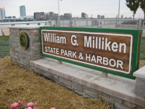 Milliken State Park on the Detroit RiverWalk