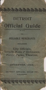 1898 Detroit Official Guide